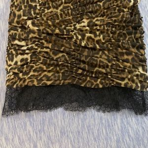 BCBGMaxAzria Dresses - 💋sexy BCBG leopard dress 👗